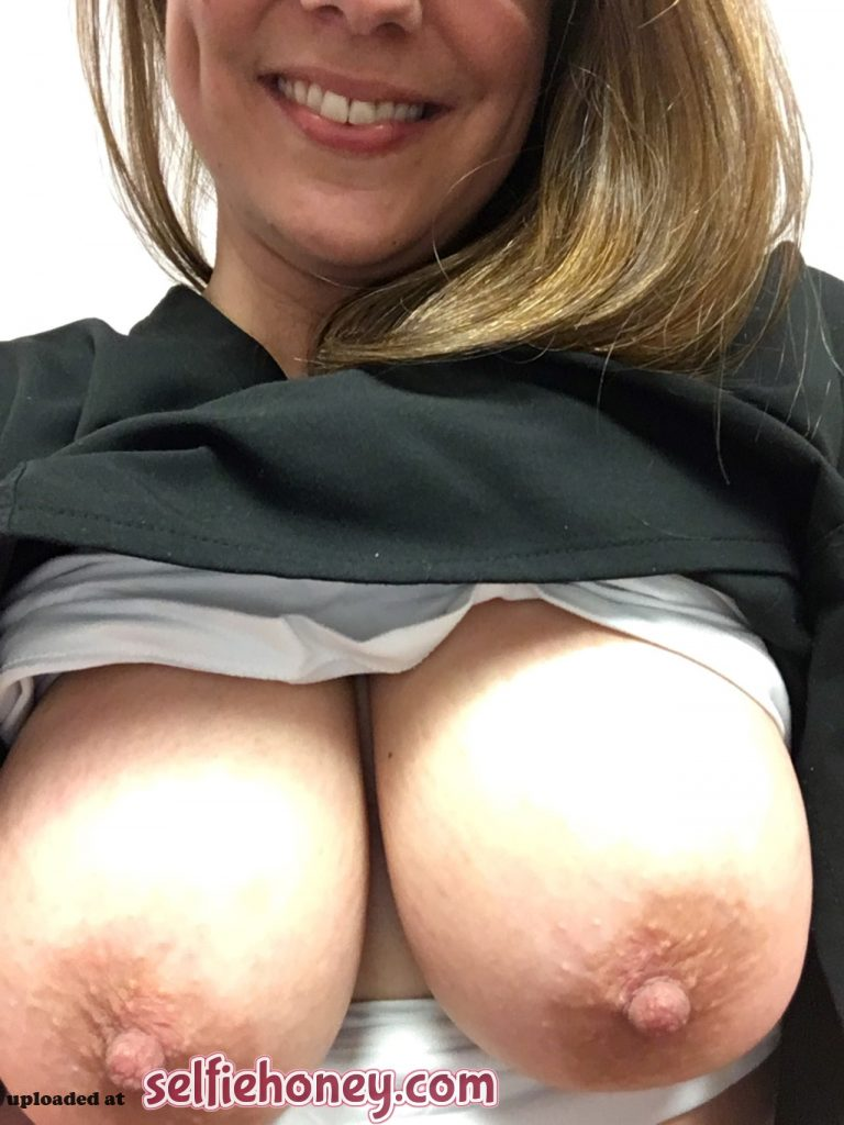 doctor3 768x1024 - Busty Doctor Showing Her Asset