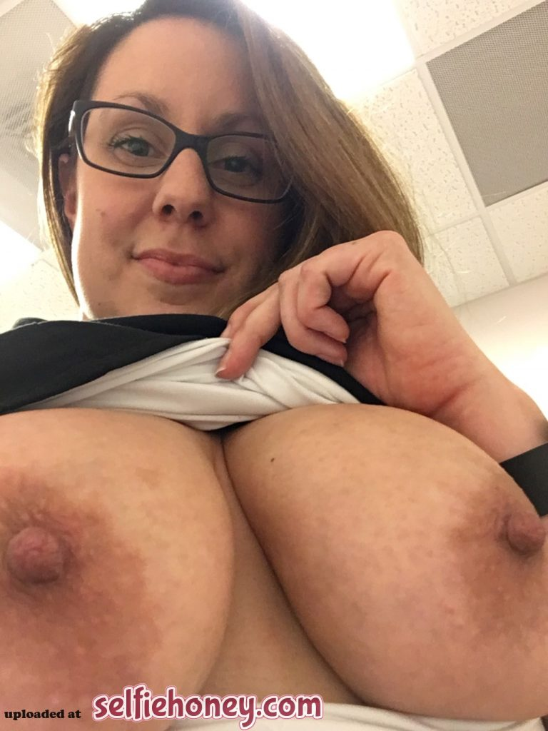 doctor4 768x1024 - Busty Doctor Showing Her Asset