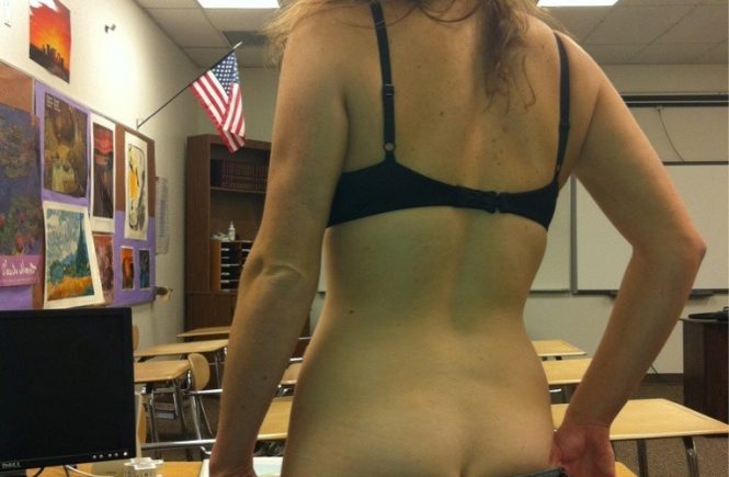 teacherselfie 7 665x435 - Hot School Teacher Selfies