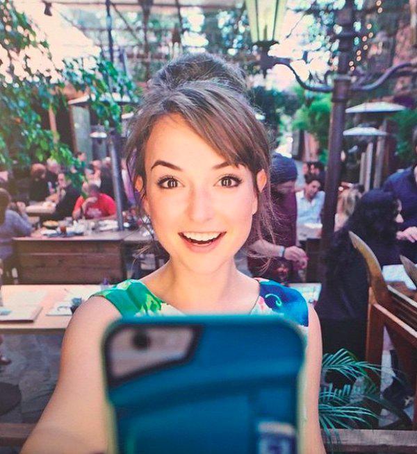 MilanaVayntrubSelfie2 - Milana Vayntrub Cute Selfie