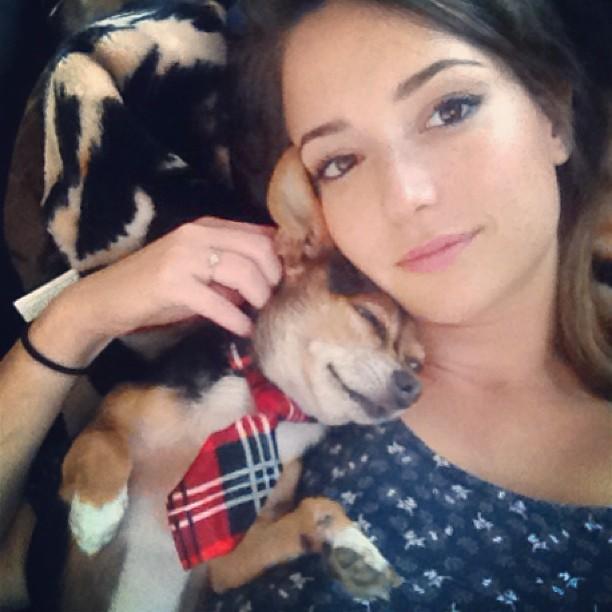 MilanaVayntrubSelfie5 - Milana Vayntrub Cute Selfie