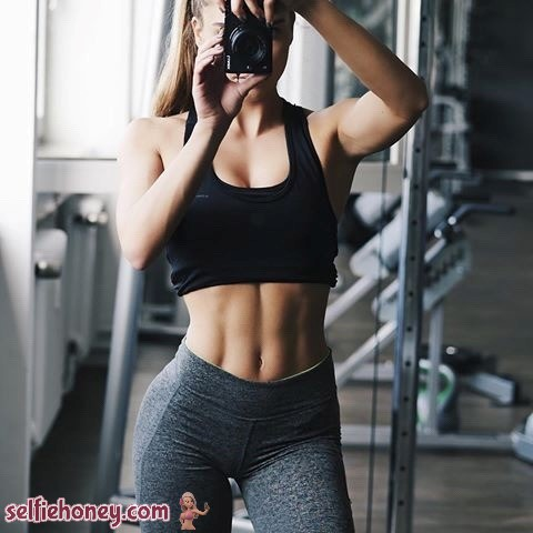 girlingymselfie - Girls in Gym Selfie