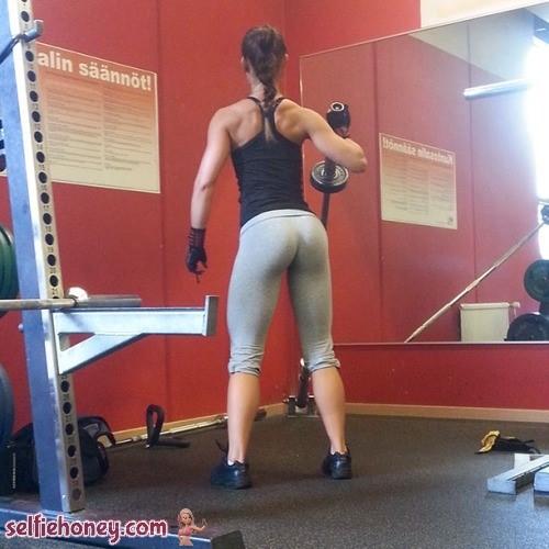 girlingymselfie2 - Girls in Gym Selfie