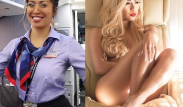 sexyflightattendant 360x210 - Sexy Flight Attendant Selfie