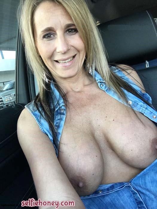 maturemilfselfie7 - Real Amateur Wife Selfie